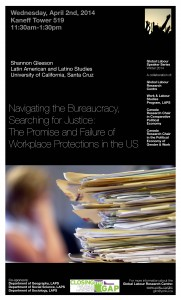 Global Labour Workplace Protections Poster