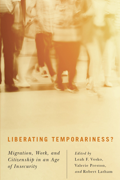 Liberating Temporariness book cover