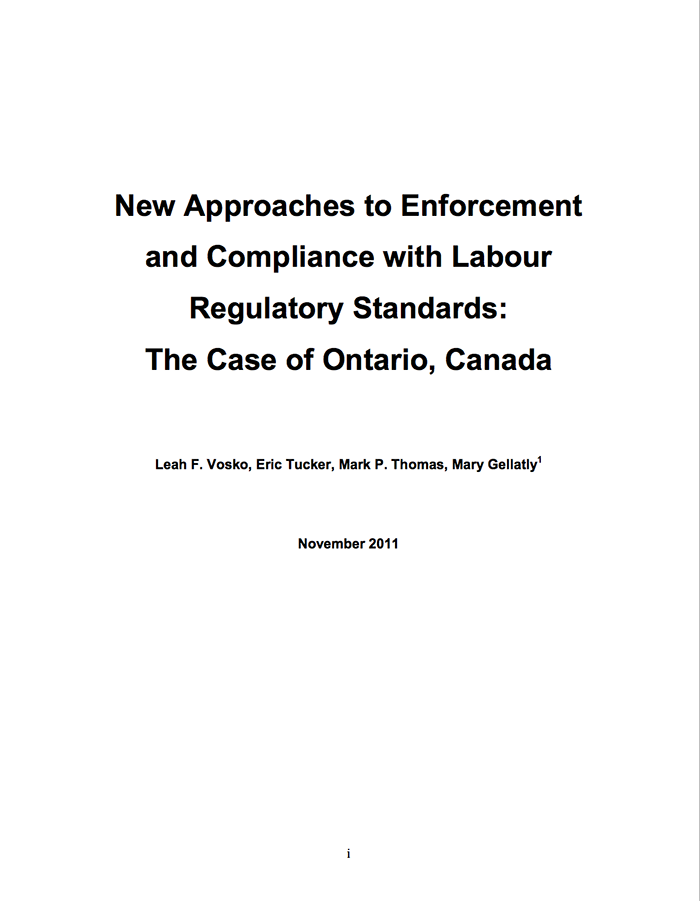 New Approaches report cover