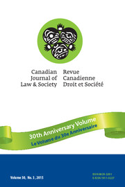 Canadian Journal of Law & Society