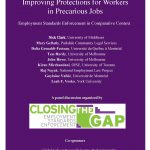 May 3 Panel discussion – Improving Protections for Workers in Precarious Jobs